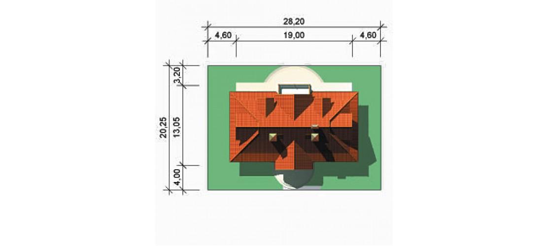 Projekt domu LK&237