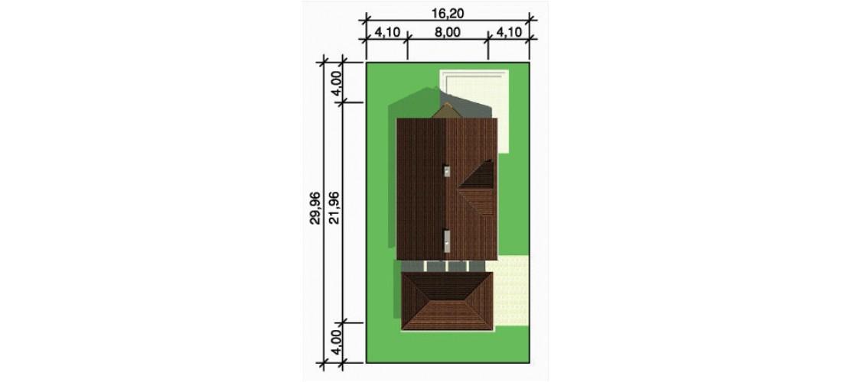 Projekt domu LK&209