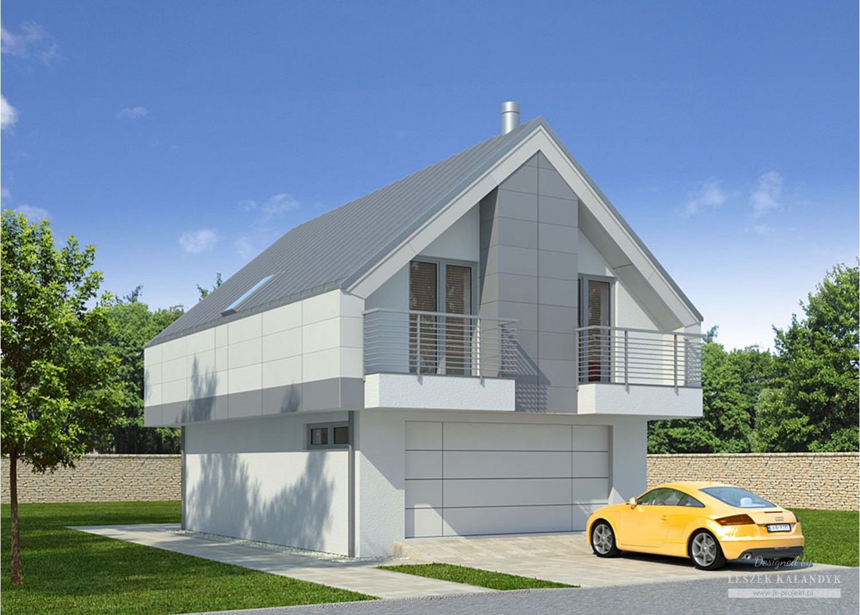 Projekt domu LK&841