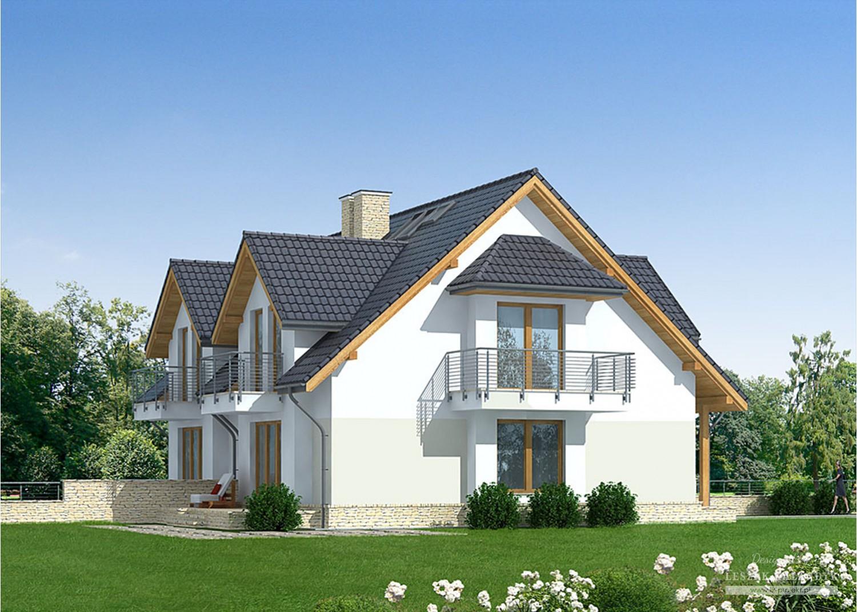 Projekt domu LK&825