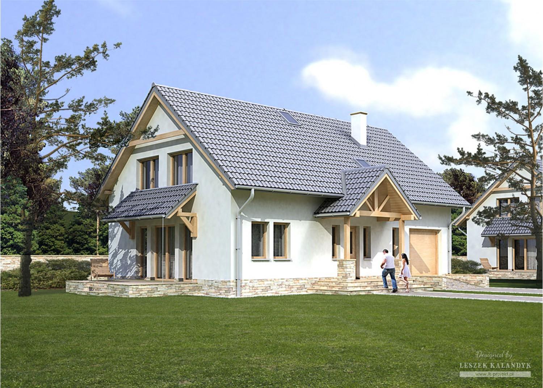 Projekt domu LK&808