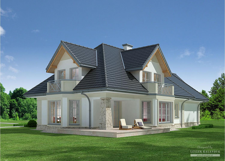 Projekt domu LK&798