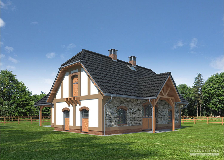 Projekt domu LK&781