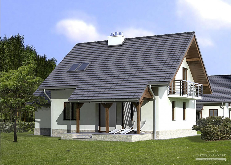 Projekt domu LK&773