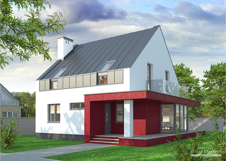 Projekt domu LK&761