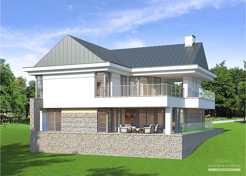 Projekt domu LK&760