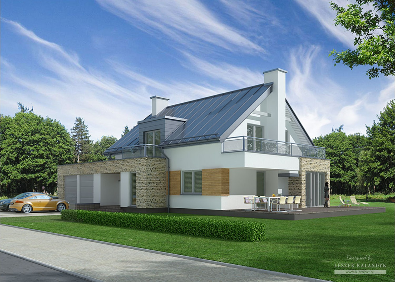 Projekt domu LK&756