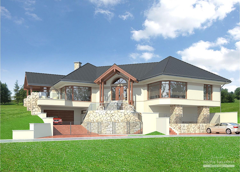 Projekt domu LK&755