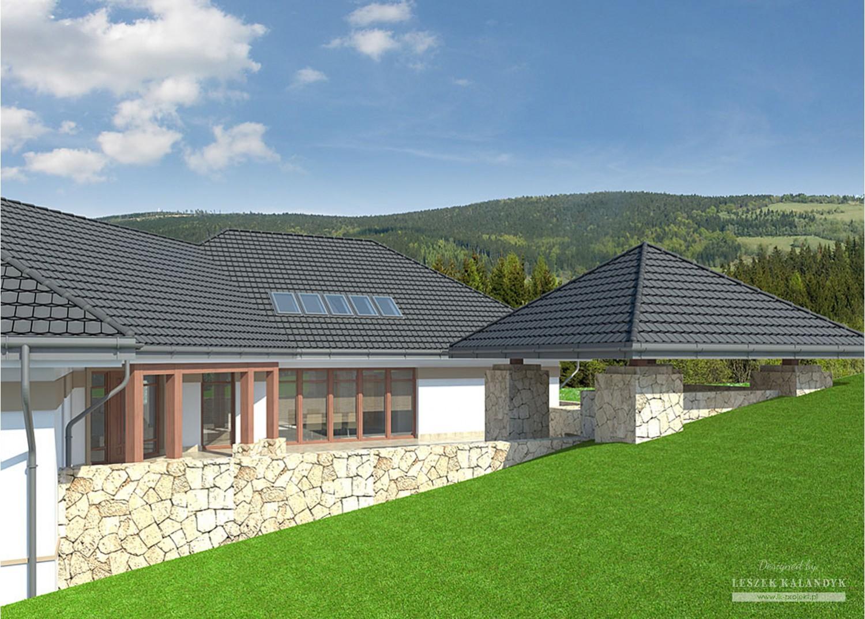 Projekt domu LK&750