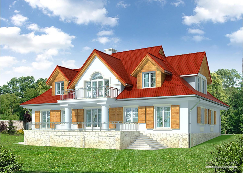 Projekt domu LK&738