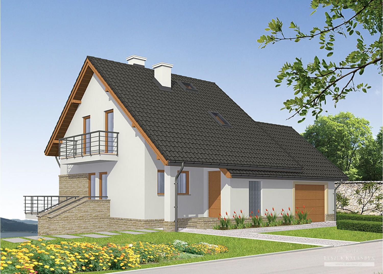 Projekt domu LK&734