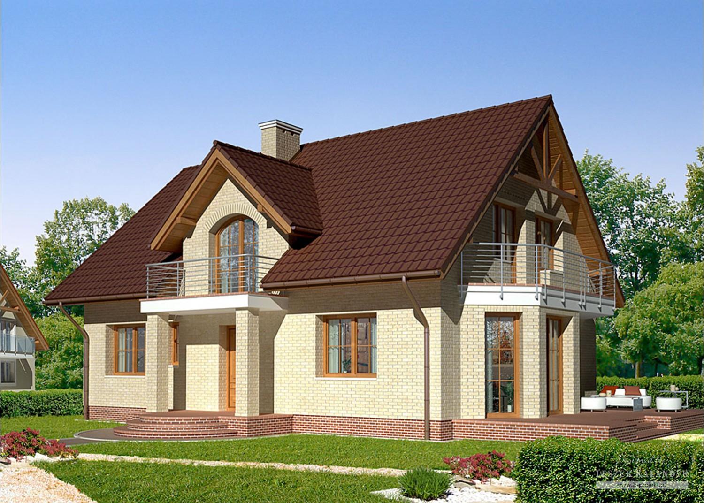 Projekt domu LK&721