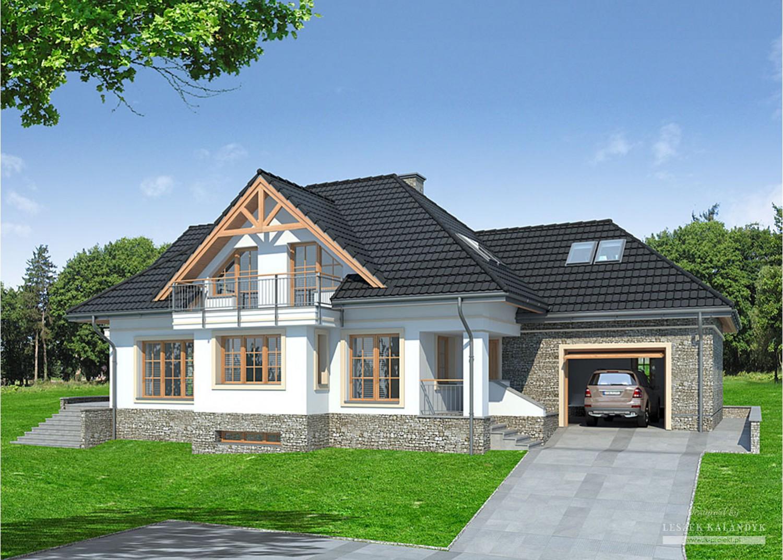Projekt domu LK&720
