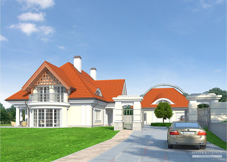 Projekt domu LK&715