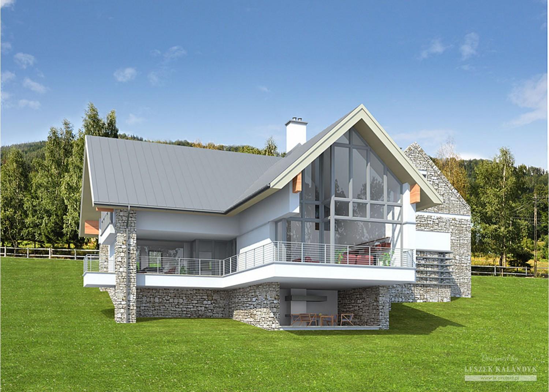 Projekt domu LK&714