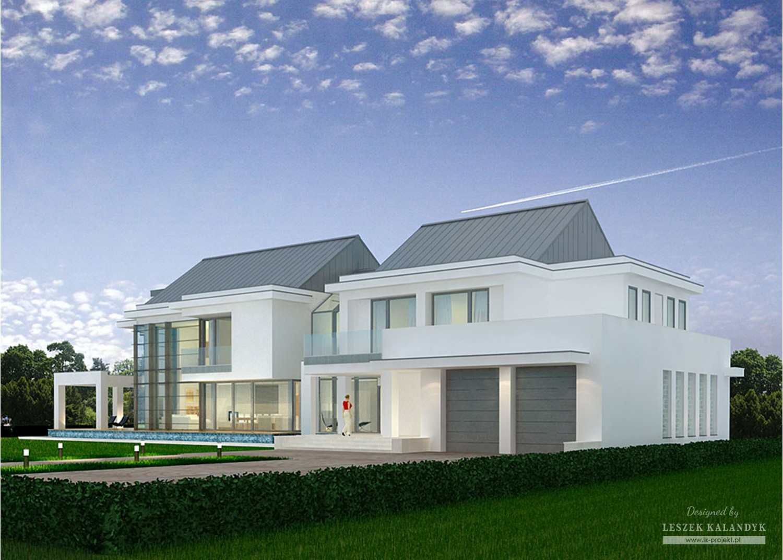 Projekt domu LK&843