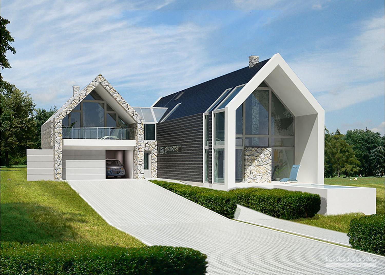 Projekt domu LK&688