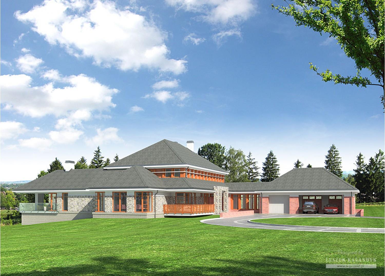 Projekt domu LK&685
