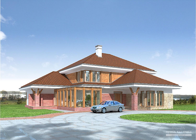 Projekt domu LK&678