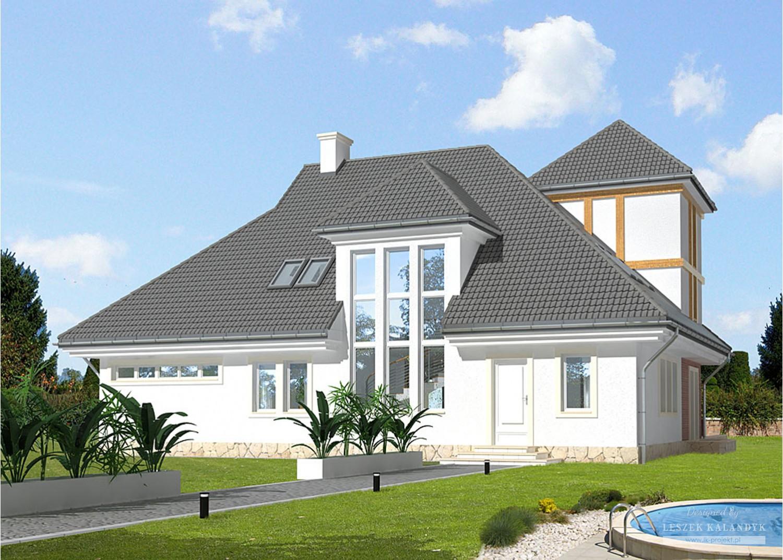 Projekt domu LK&673