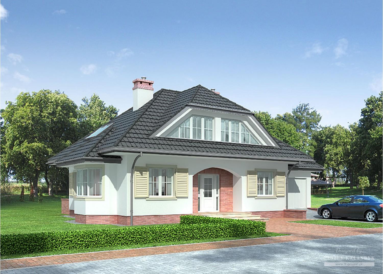 Projekt domu LK&672
