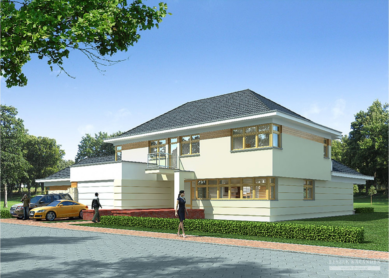 Projekt domu LK&655