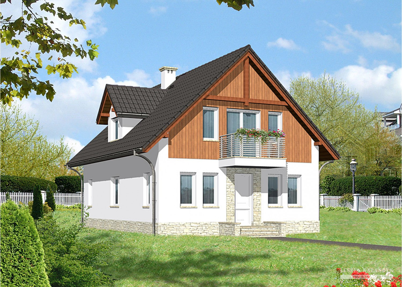 Projekt domu LK&651