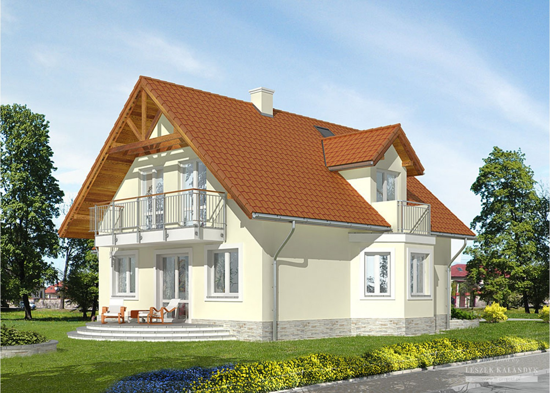 Projekt domu LK&646