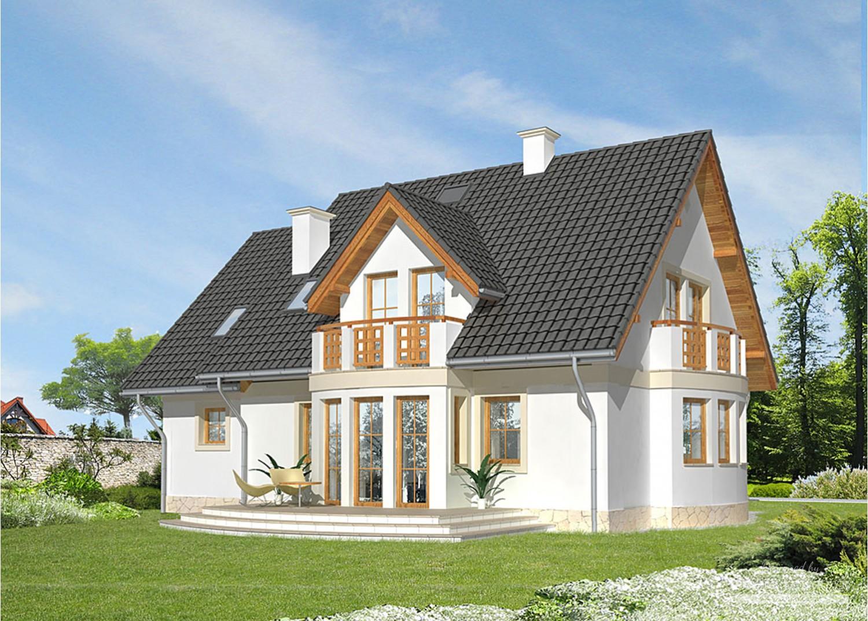 Projekt domu LK&644