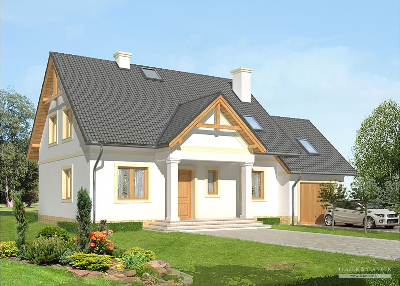 Projekt domu LK&637