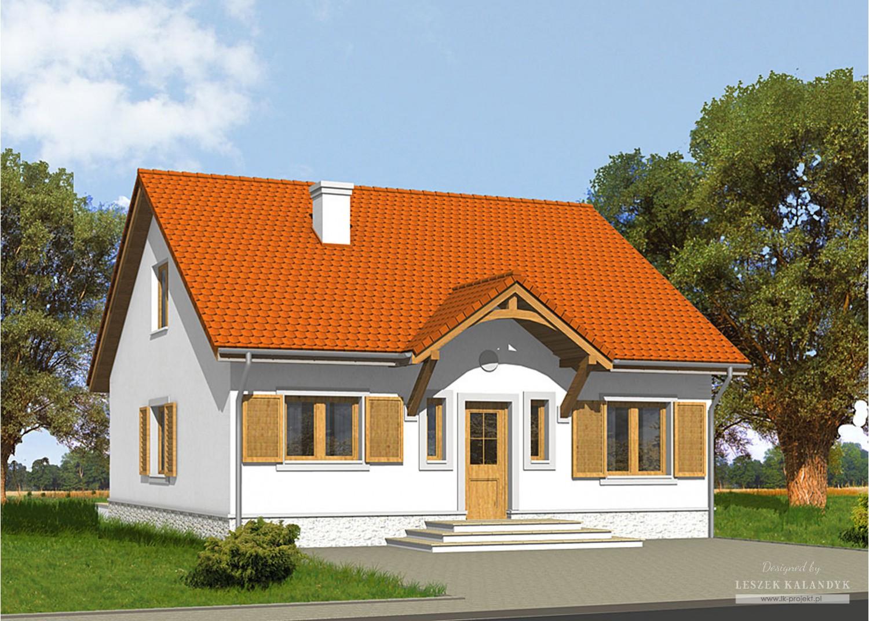Projekt domu LK&632