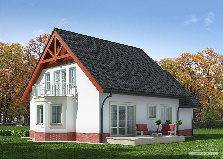 Projekt domu LK&630