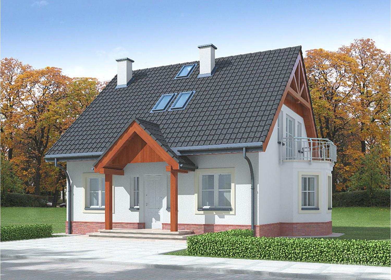 Projekt domu LK&629