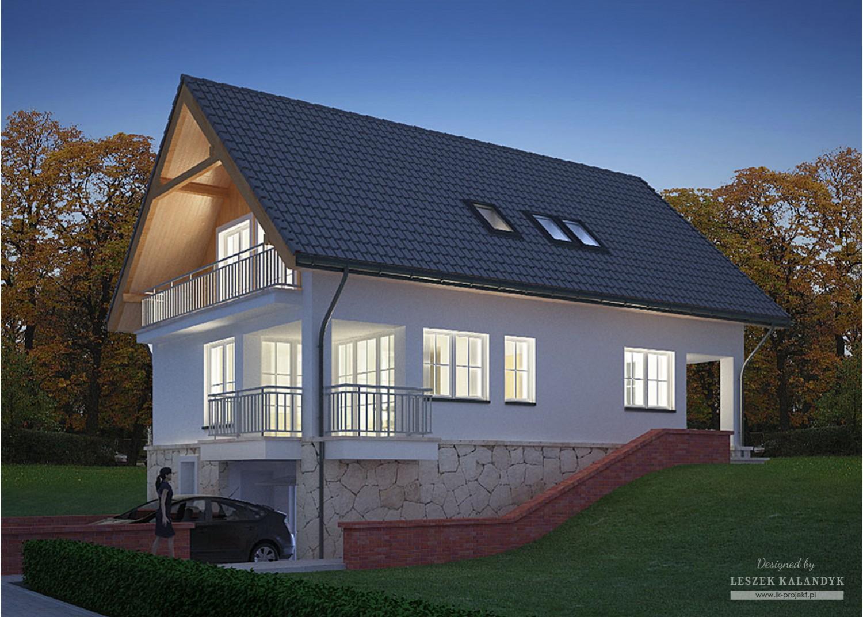 Projekt domu LK&616