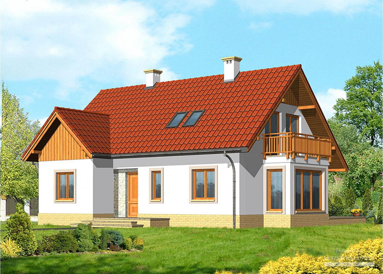 Projekt domu LK&613