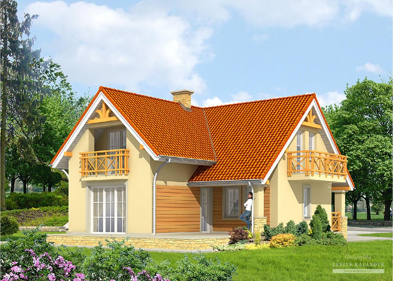 Projekt domu LK&606
