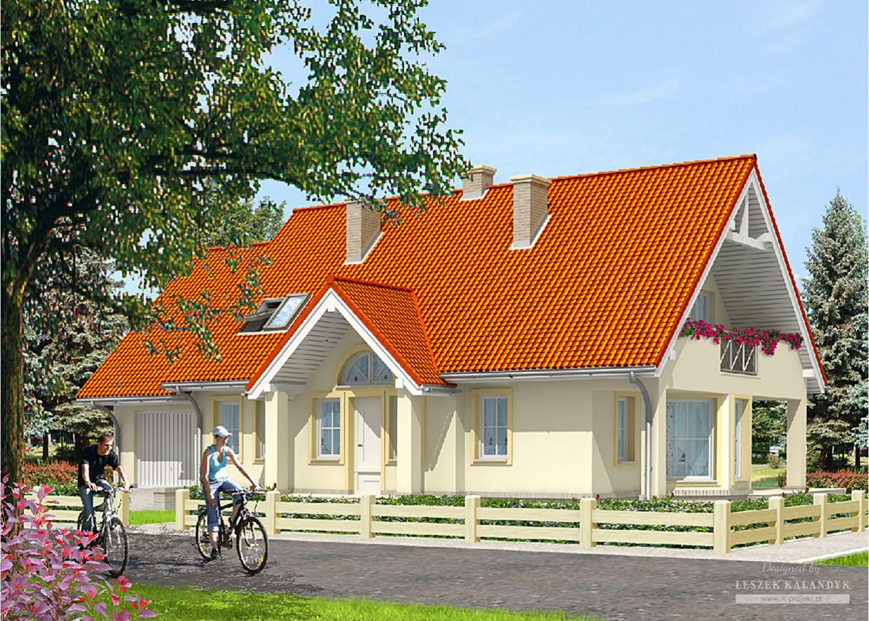 Projekt domu LK&602