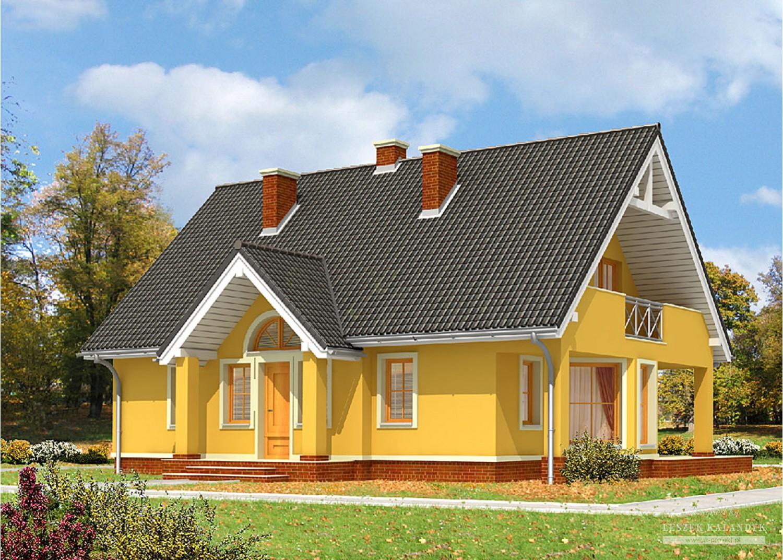 Projekt domu LK&601