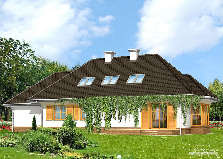 Projekt domu LK&600