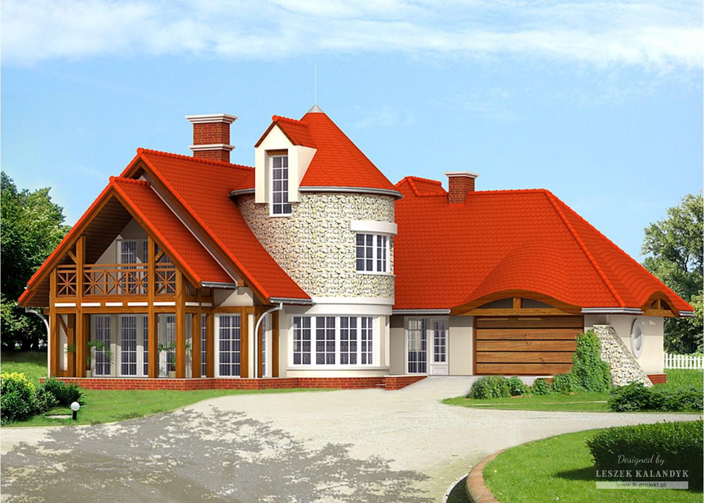 Projekt domu LK&590