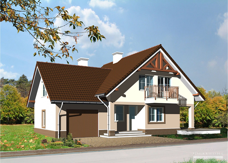 Projekt domu LK&588
