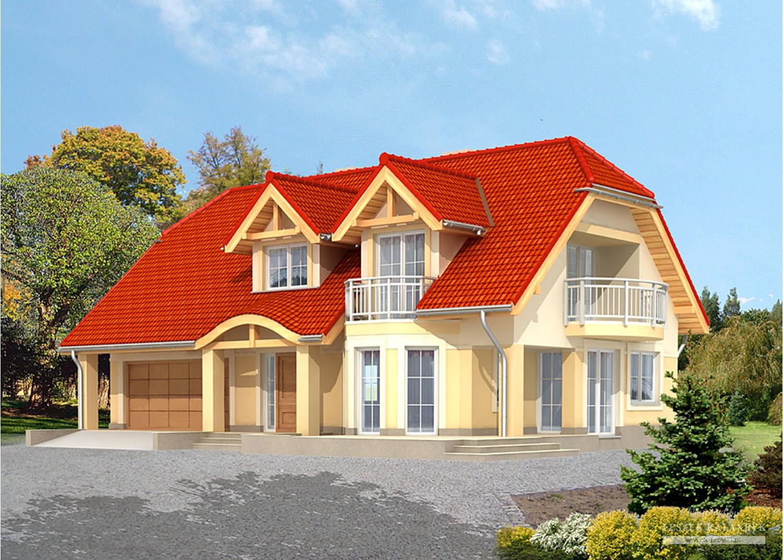 Projekt domu LK&585