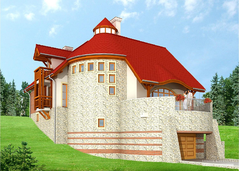 Projekt domu LK&578