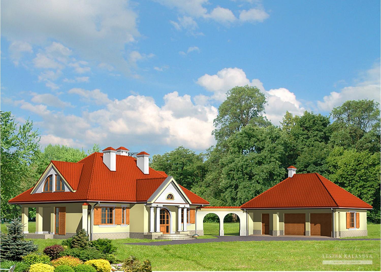 Projekt domu LK&474