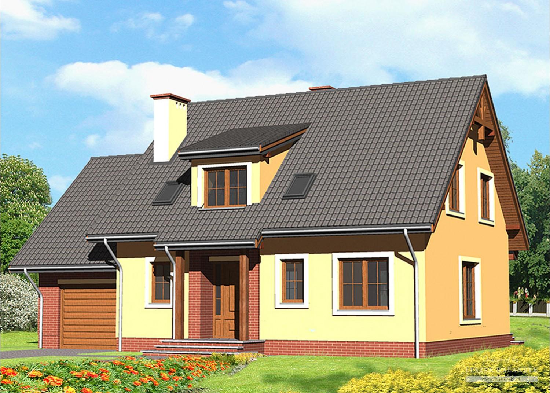 Projekt domu LK&572