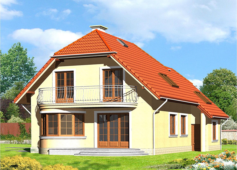 Projekt domu LK&563