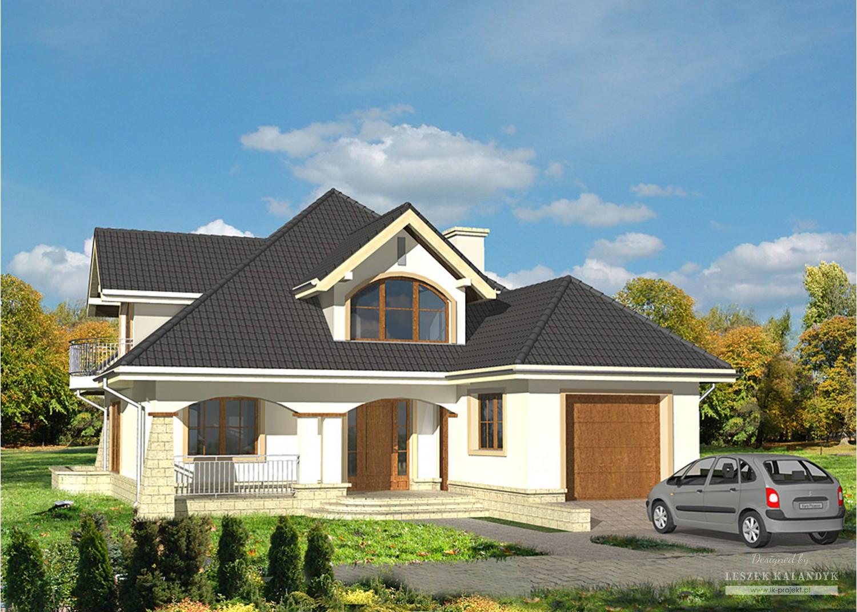 Projekt domu LK&526