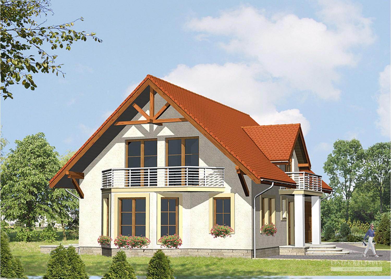 Projekt domu LK&511
