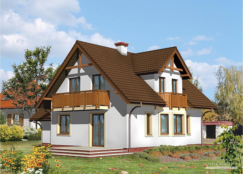 Projekt domu LK&433