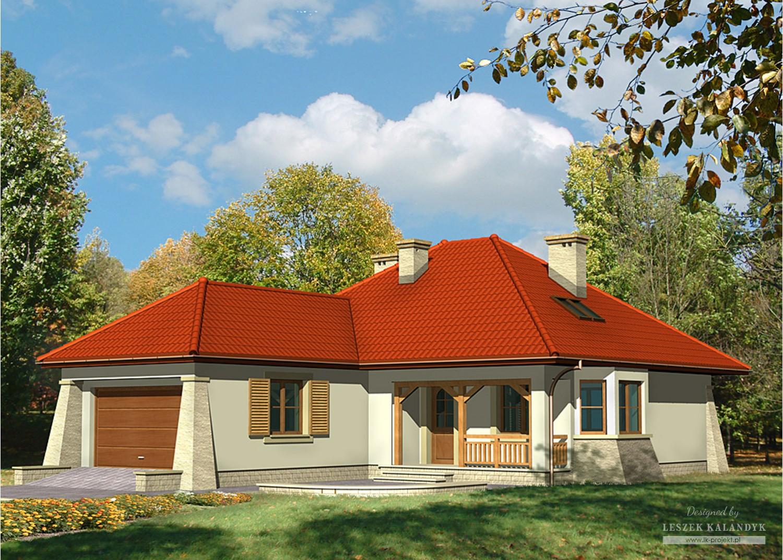 Projekt domu LK&446